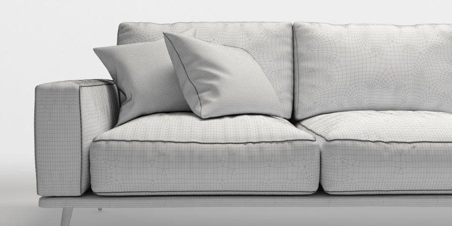 Bo_Concept_Carlton royalty-free modelo 3d - Preview no. 6