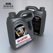 Контейнер для моторного масла 4л Лотос 2009 3d model