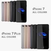 iPhone 7 y iPhone 7 Plus colección modelo 3d