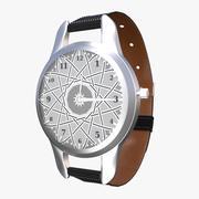 Классические наручные часы 3d model