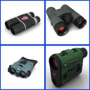 Binoculars Scope Collection 3d model
