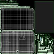 Generic Tablet Computer 3d model