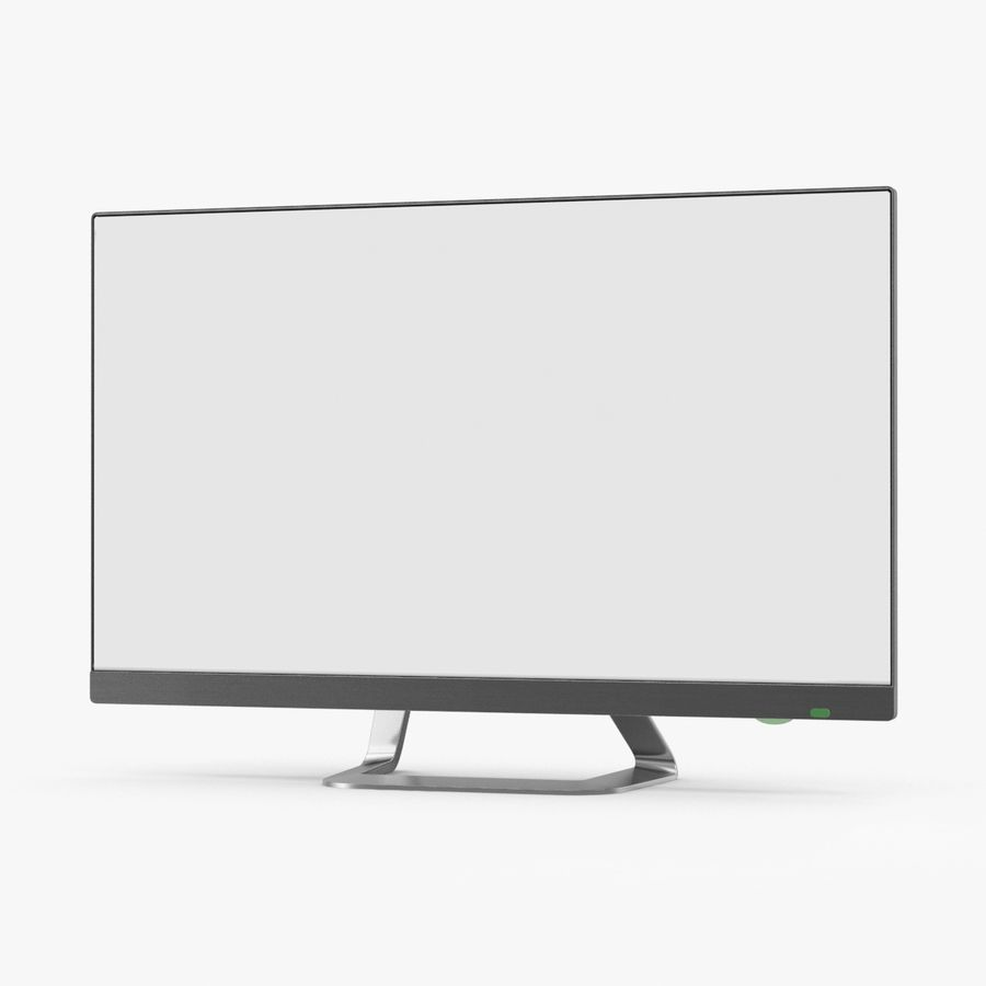 Pc Monitor 02 royalty-free 3d model - Preview no. 1