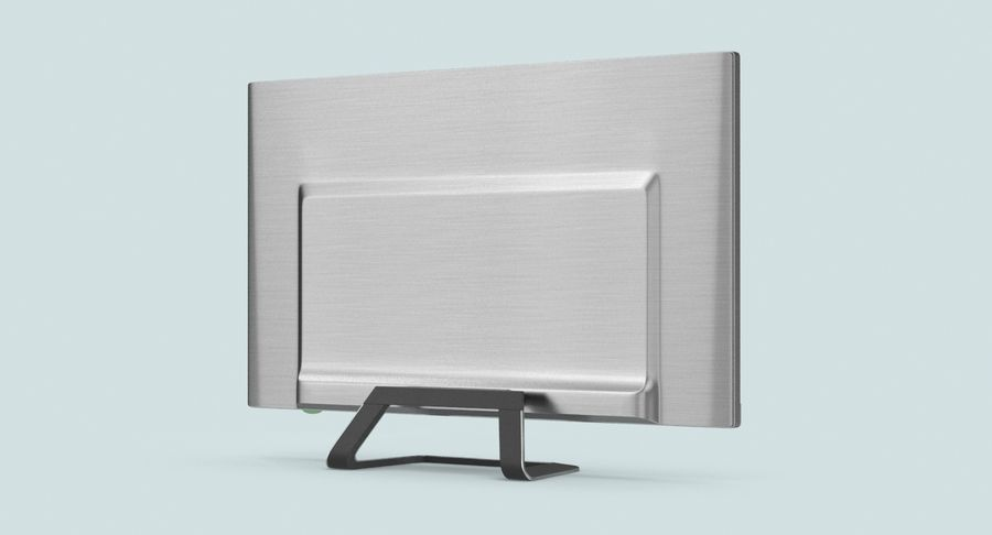 Pc Monitor 02 royalty-free 3d model - Preview no. 6