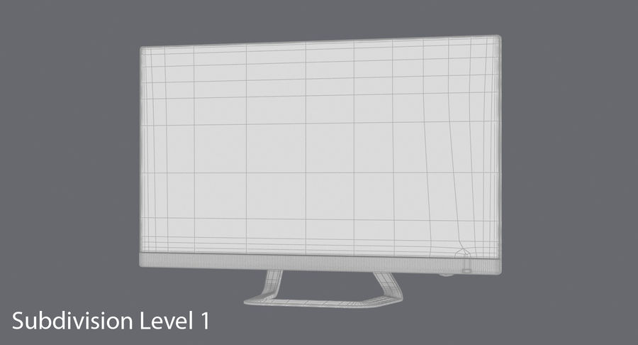 Pc Monitor 02 royalty-free 3d model - Preview no. 16
