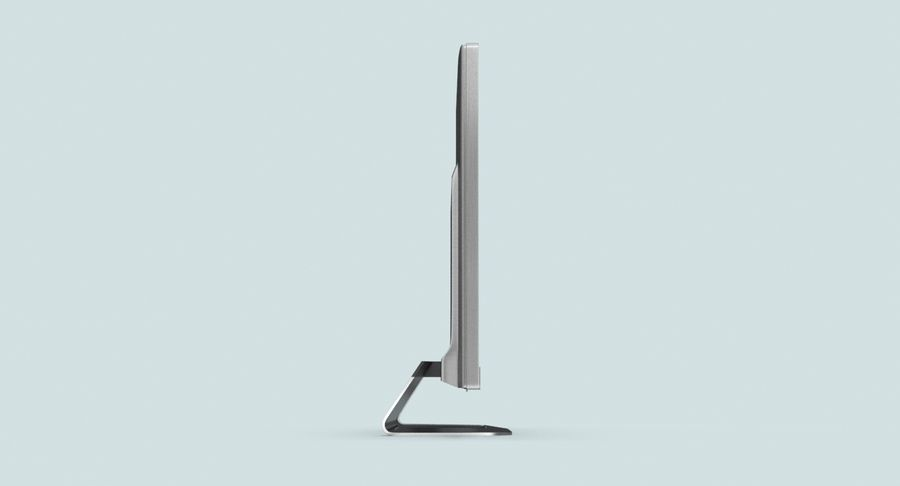 Pc Monitor 02 royalty-free 3d model - Preview no. 7