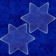 Star of David Ornament 01 3d model