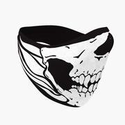 Kafatası Yün Maskesi 3d model