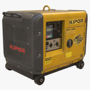 Generatore diesel Kipor 3d model