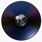 Vinyl Disc v.2 3d model