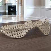 Wicker Deck stol 3d model
