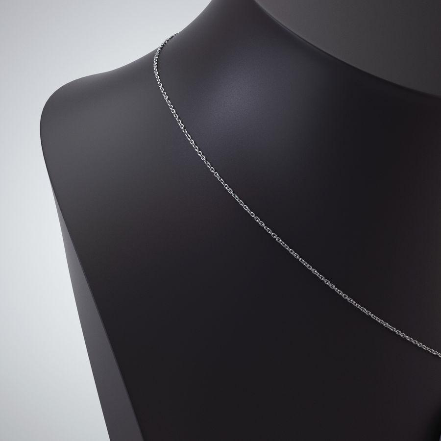 popiersie z biżuterii 2 royalty-free 3d model - Preview no. 7