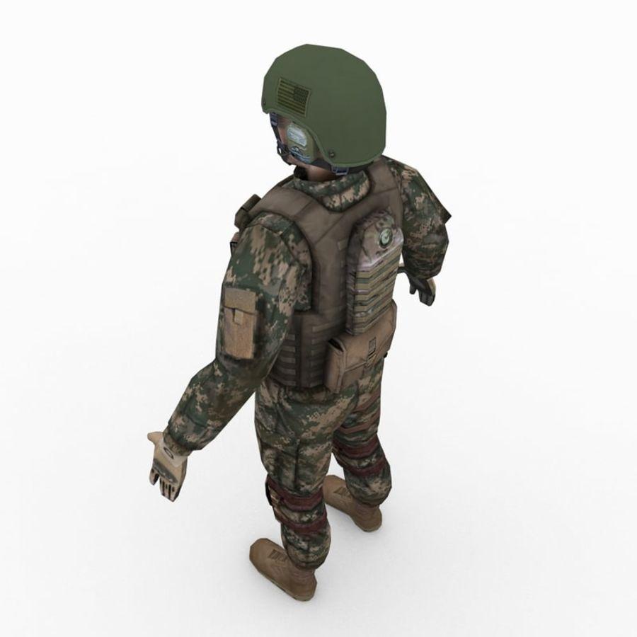 ABD Ordusu Delta Gücü royalty-free 3d model - Preview no. 8