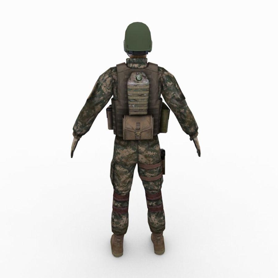 ABD Ordusu Delta Gücü royalty-free 3d model - Preview no. 3