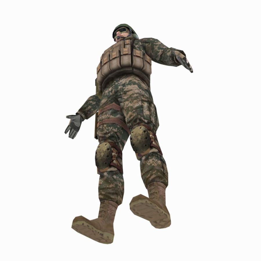 ABD Ordusu Delta Gücü royalty-free 3d model - Preview no. 9