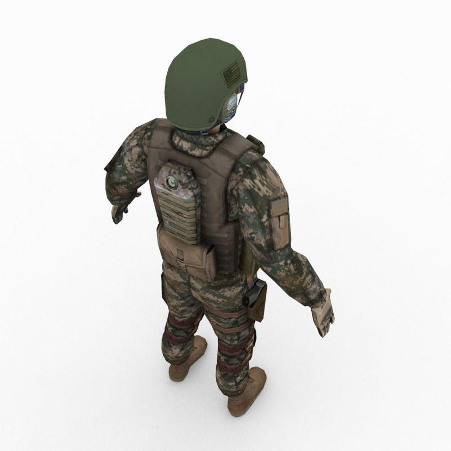 ABD Ordusu Delta Gücü royalty-free 3d model - Preview no. 7