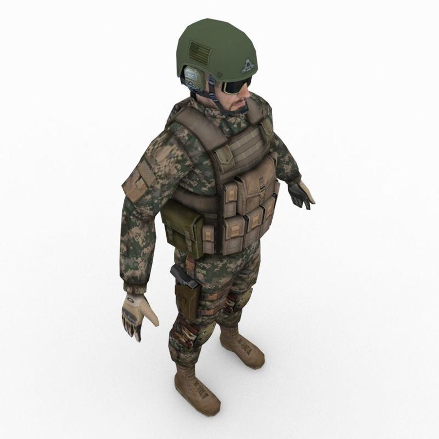 ABD Ordusu Delta Gücü royalty-free 3d model - Preview no. 6