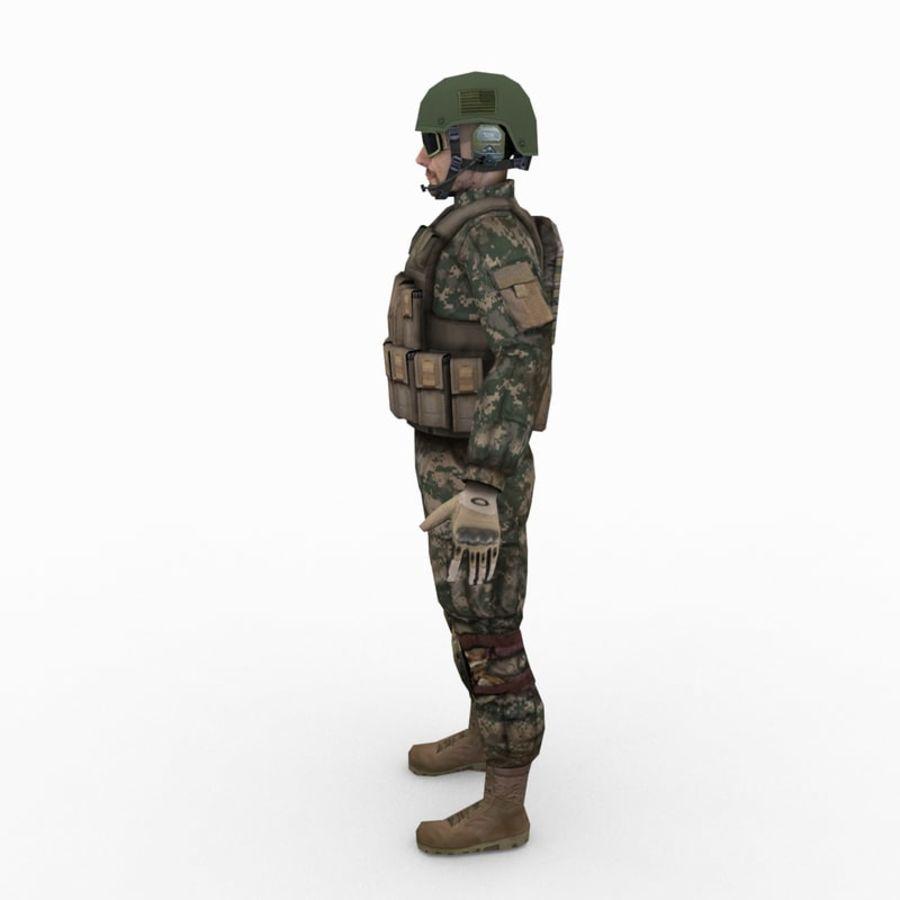 ABD Ordusu Delta Gücü royalty-free 3d model - Preview no. 4