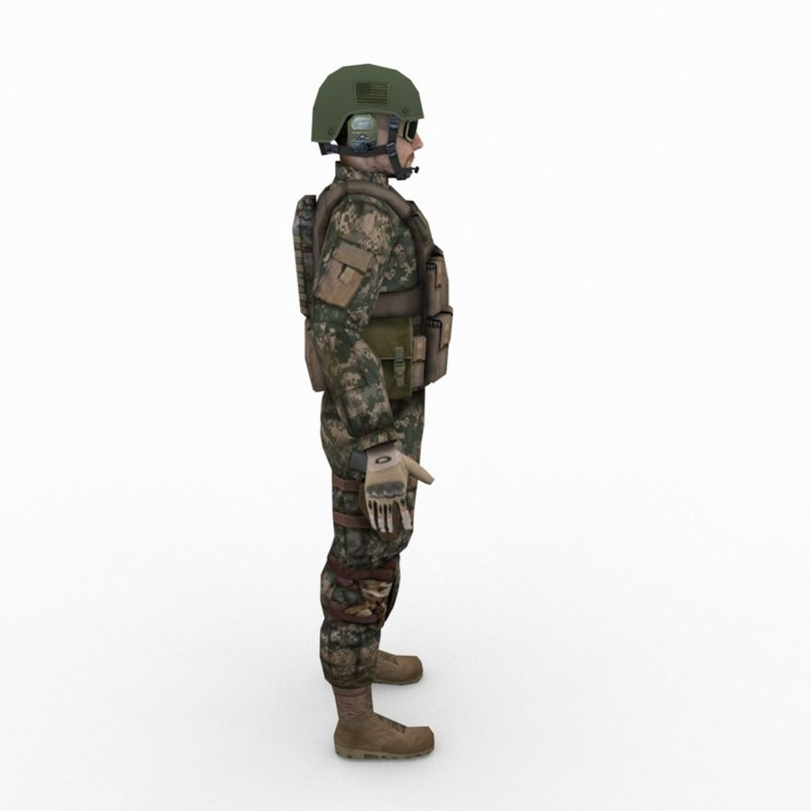 ABD Ordusu Delta Gücü royalty-free 3d model - Preview no. 2