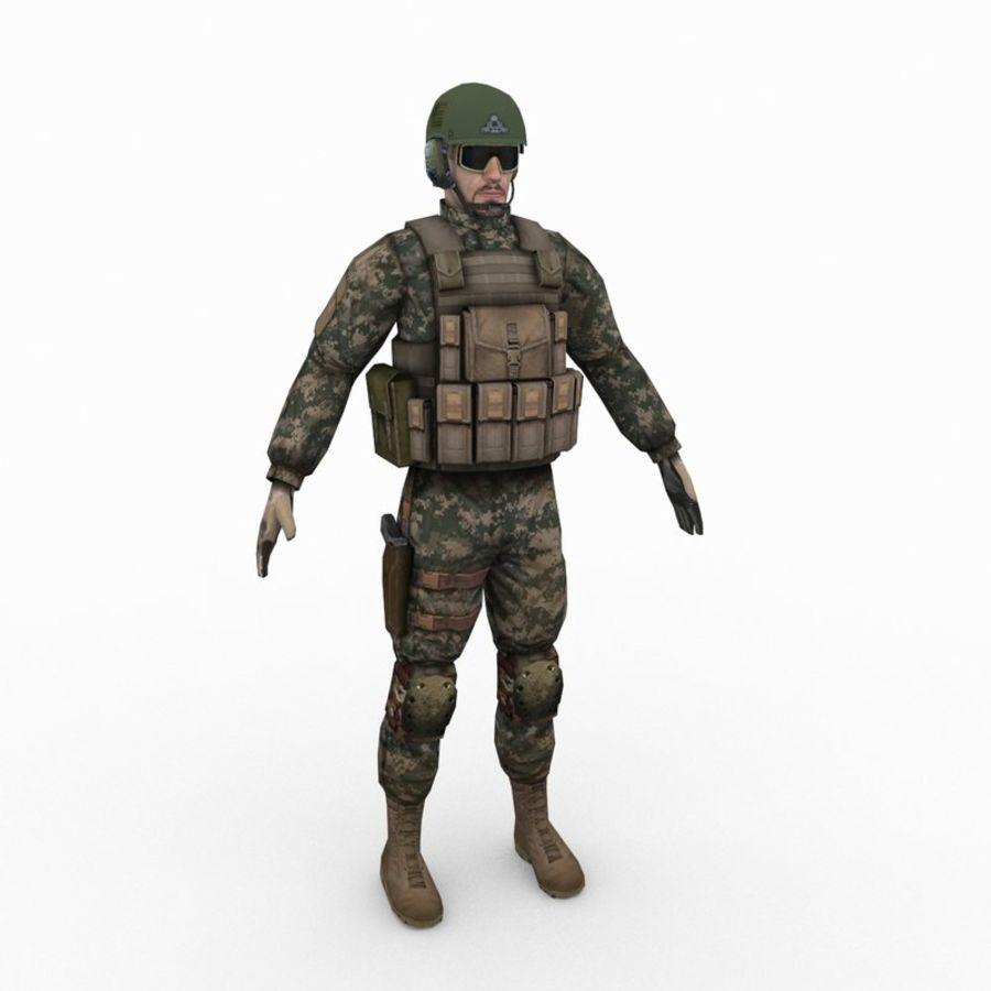 ABD Ordusu Delta Gücü royalty-free 3d model - Preview no. 1