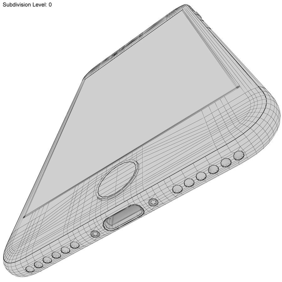 Apple iPhone 7 Gül Altın royalty-free 3d model - Preview no. 24