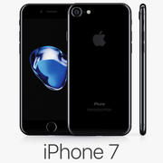 iPhone 7 Jet Black 3d model
