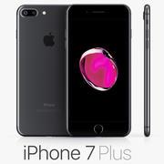 iPhone 7 Plus黑色 3d model