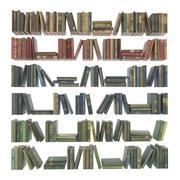 Book set 188 pcs 3d model