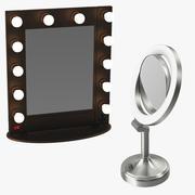 Makeup speglar 3d model