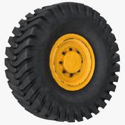 Колесо трактора 3d model