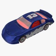Zabawkowy samochód wyścigowy 02 3d model