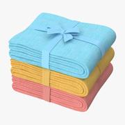 Baby Blankets 01 01 3d model