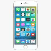 Apple iPhone 7 Gold modelo 3d