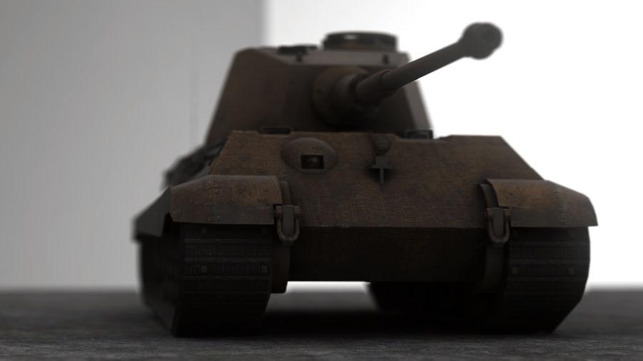 Второй мировой войны немецкий танк royalty-free 3d model - Preview no. 7