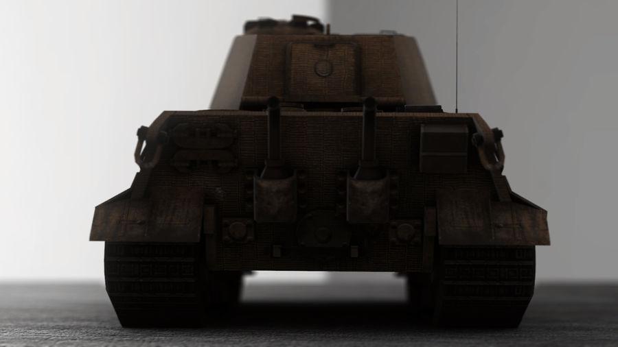 Второй мировой войны немецкий танк royalty-free 3d model - Preview no. 8
