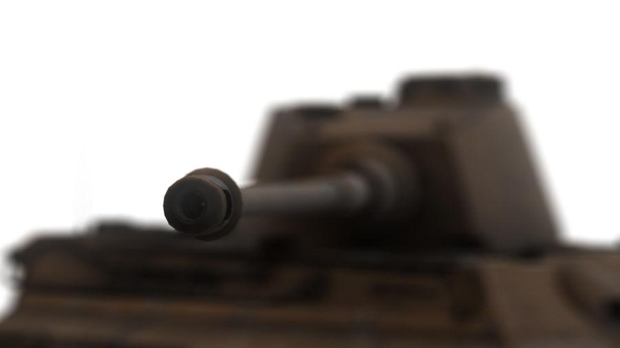 Второй мировой войны немецкий танк royalty-free 3d model - Preview no. 14