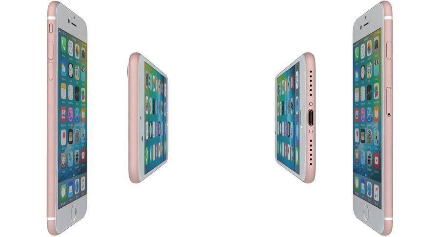 Apple iPhone 7 Gül Altın royalty-free 3d model - Preview no. 12