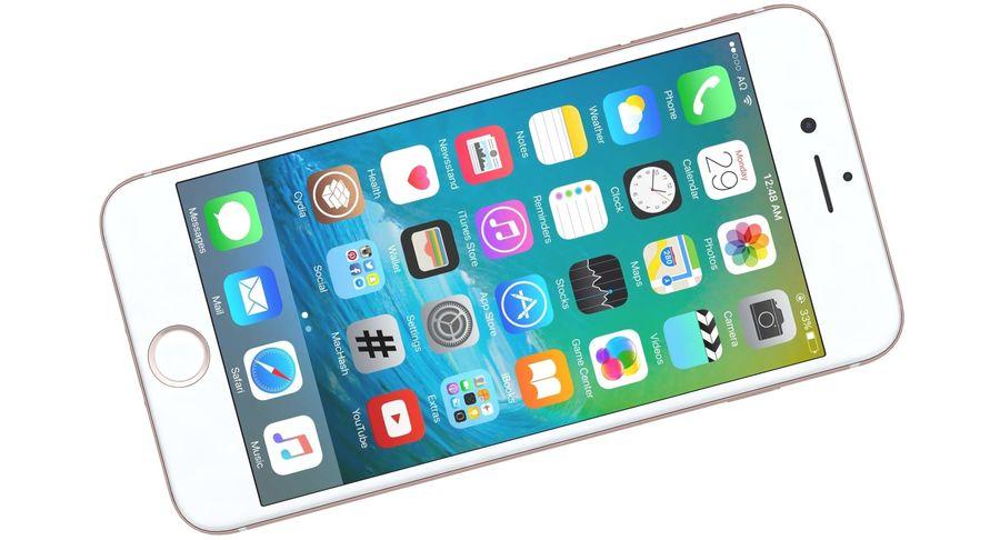 Apple iPhone 7 Gül Altın royalty-free 3d model - Preview no. 13
