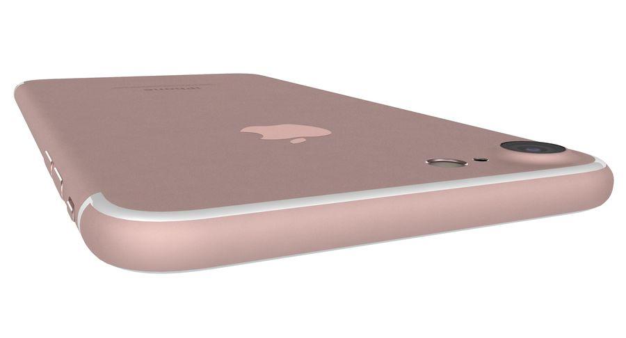 Apple iPhone 7 Gül Altın royalty-free 3d model - Preview no. 22
