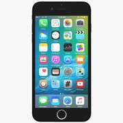 Apple iPhone 7 nero 3d model