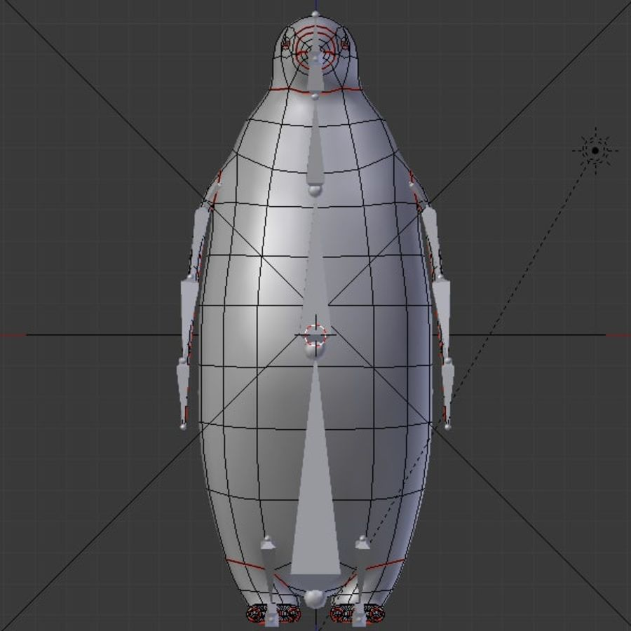 scène arctique royalty-free 3d model - Preview no. 20