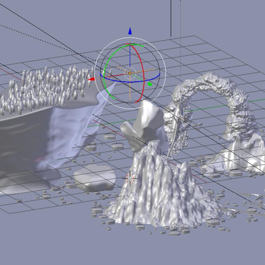 scène arctique royalty-free 3d model - Preview no. 5