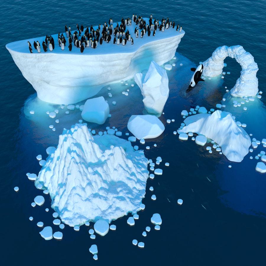 scène arctique royalty-free 3d model - Preview no. 1