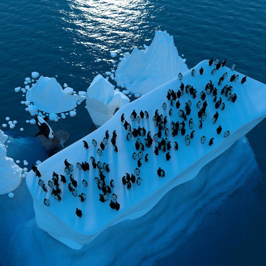 scène arctique royalty-free 3d model - Preview no. 3