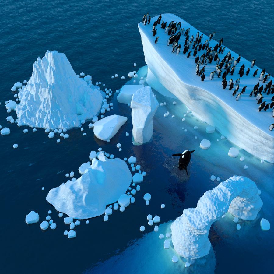 scène arctique royalty-free 3d model - Preview no. 2