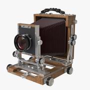 Large Format Camera 3d model