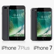 Apple iPhone 7 e iPhone 7 Plus 3d model