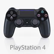 索尼PlayStation 4控制器新增功能 3d model