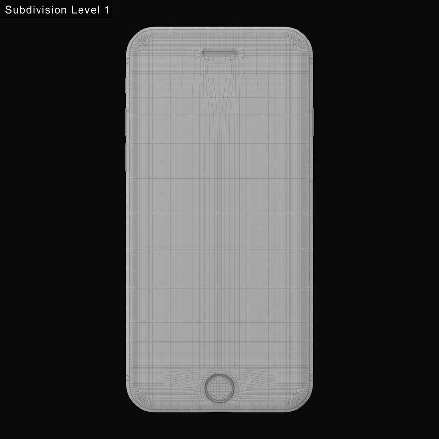 Apple iPhone 7 todos los colores royalty-free modelo 3d - Preview no. 24