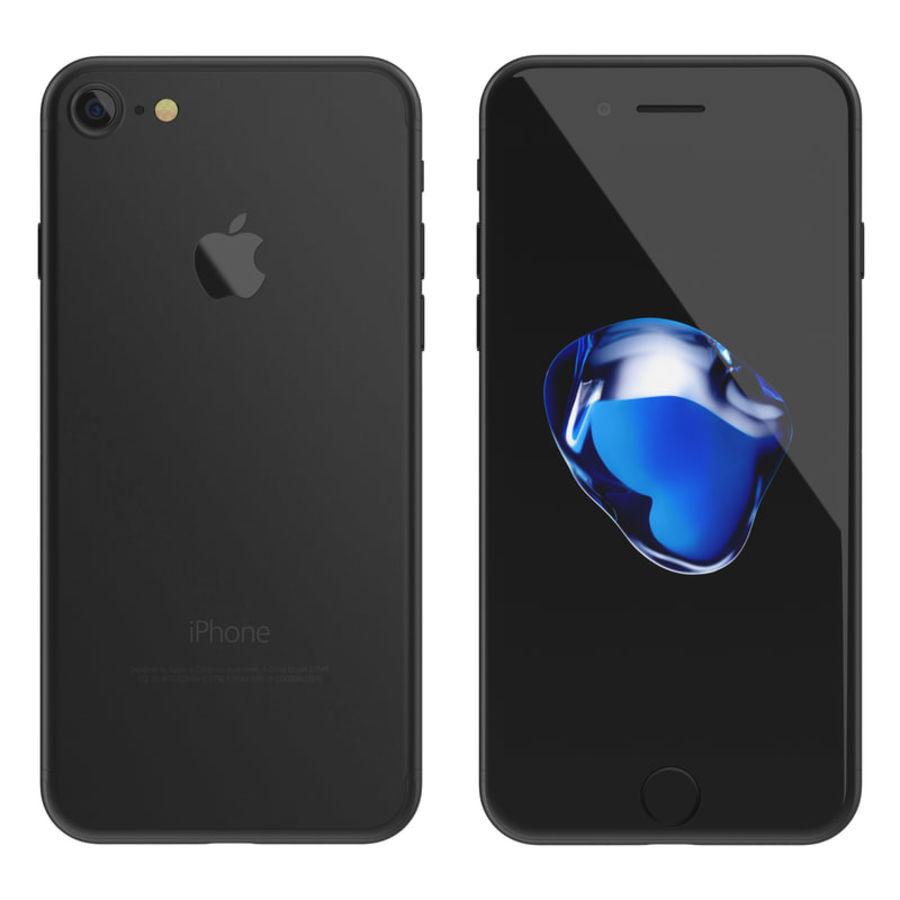 Apple iPhone 7 todos los colores royalty-free modelo 3d - Preview no. 9